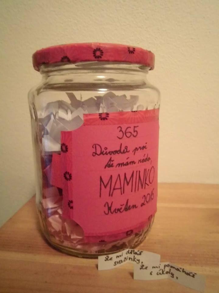 365 důvodů, proč mám rád mamínku