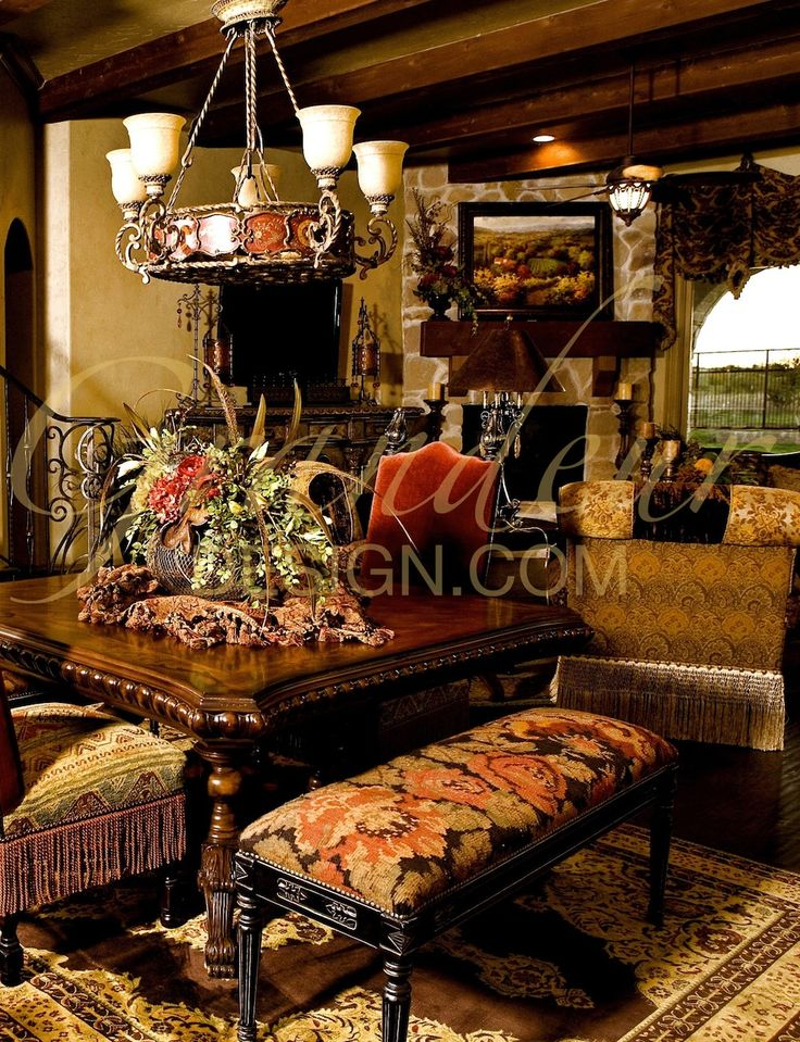 tuscan living room decor kitchens living rooms and more great interior designs 13473