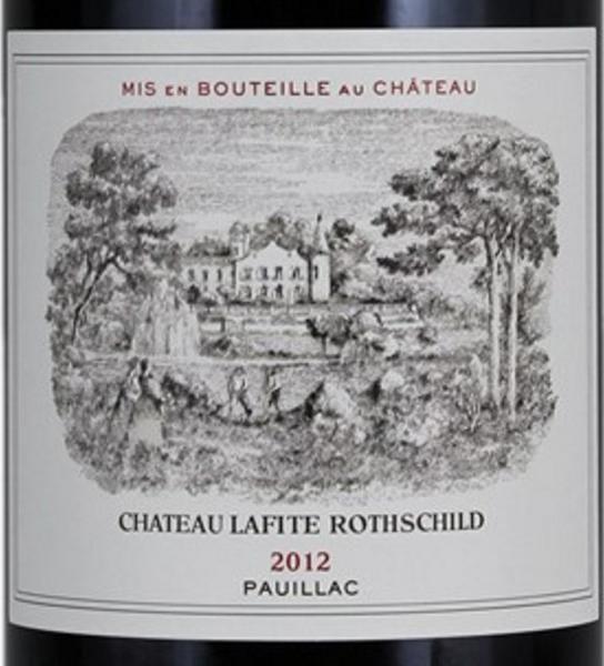 2012 Château Lafite Rothschild