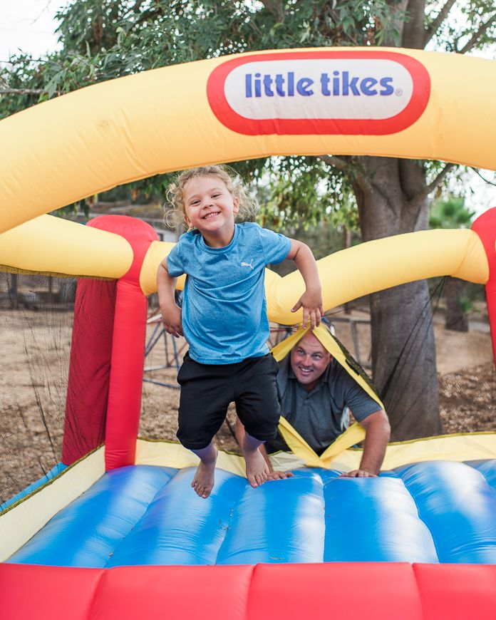 7eeea564d078 Little Tikes bounce house will take your party to the next level and is the  gift that keeps on giving.  kids  parenting