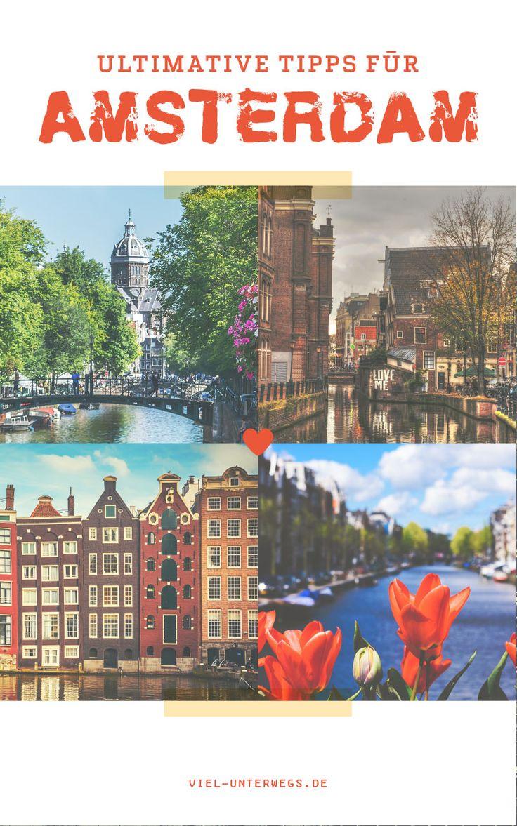 Kurztrip nach Amsterdam: Grachtenfahrten, Food-Tour & Sehenswürdigkeiten Egal ob Tatort-Tour im Rotlichtviertel oder eine Food-Tour - die besten Amsterdam Tipps gibt's hier!
