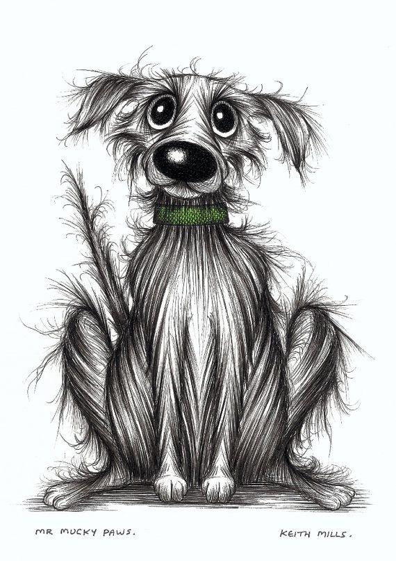 Mr Mucky paws puzzolente sudicio cane foto originale di KeithMills