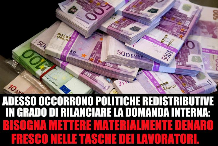 freeskipper : Quanti di quei 60miliardi di euro del Q.E. finiran...