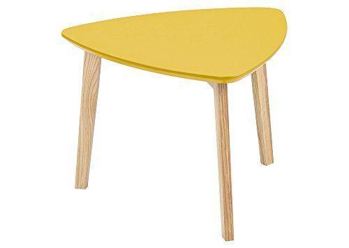 Dreieckiger Beistelltisch Couchtisch Tisch Wohnzimmertisch Salontisch Sofatisch Kaffeetisch Clubtisch