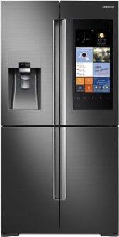 Samsung - Family Hub 4-Door Smart French Door Refrigerator