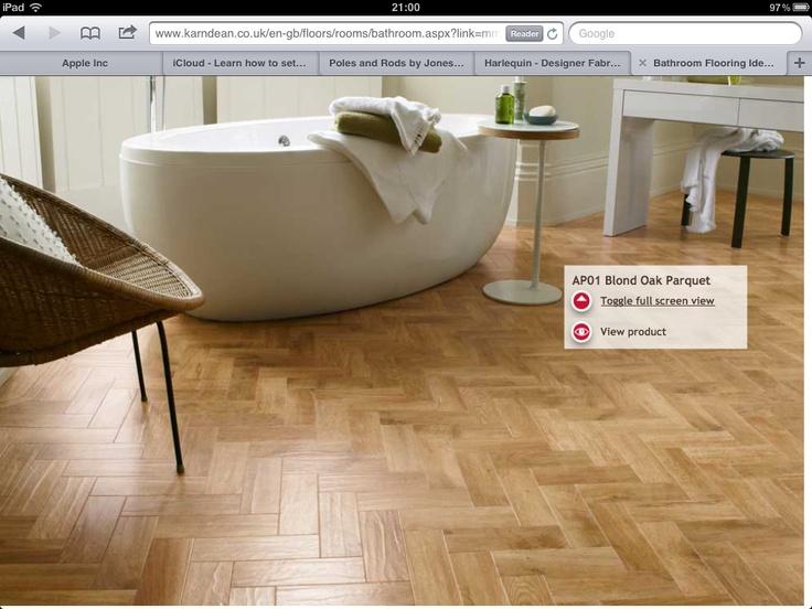 Karndean. Beautiful floor. For hallway?