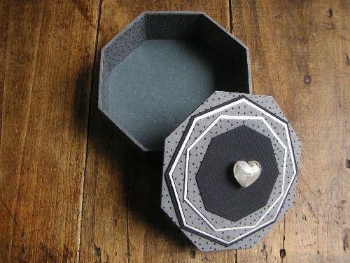 fiche boîte octogonale - L'art et Création...