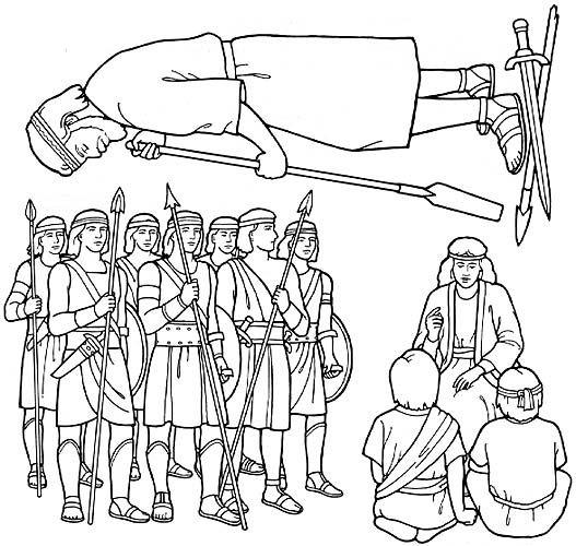 stripling warriors - Flannel board figures