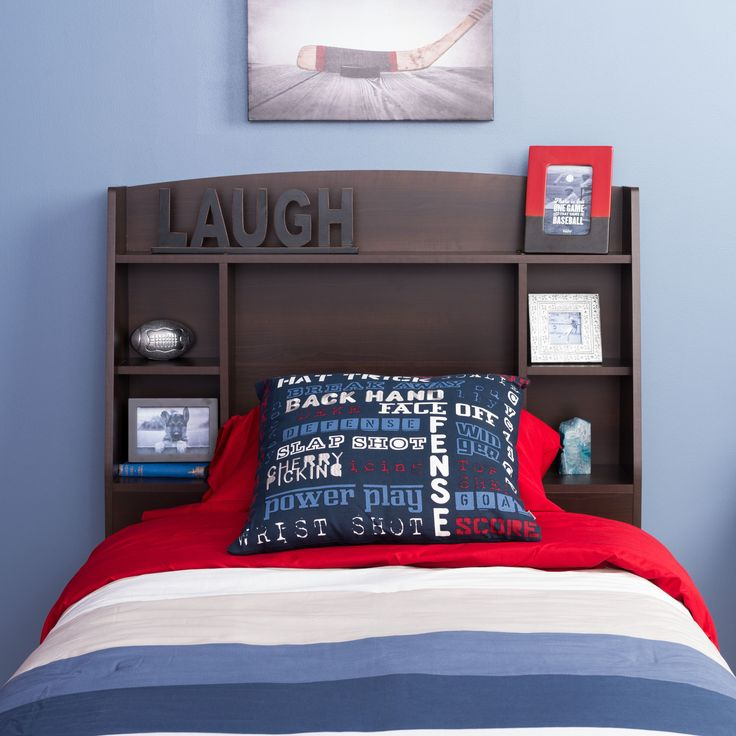 The Astrid Twin Bookcase Headboard Is The Ideal Space Saving Solution For  Any Bedroom. The Headboard Is Complete With 4 Side Compartments To Showcase  Your ...