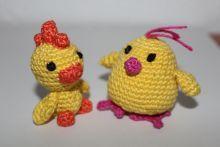 Amigurumi Ente und Küken