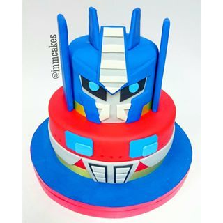 tortas de transformers optimus - Buscar con Google