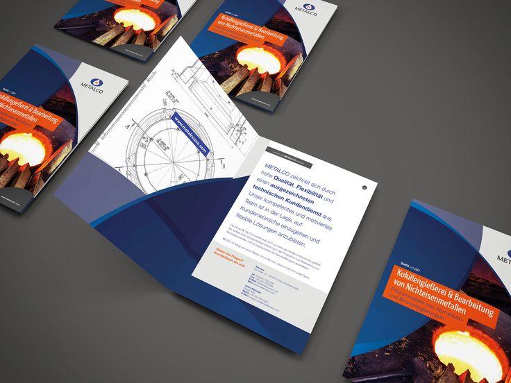 Imagebroschüre für Metalco #branding #grafikdesign #printdesign #broschüre #corporatedesign #agenturpixualis #pixualis