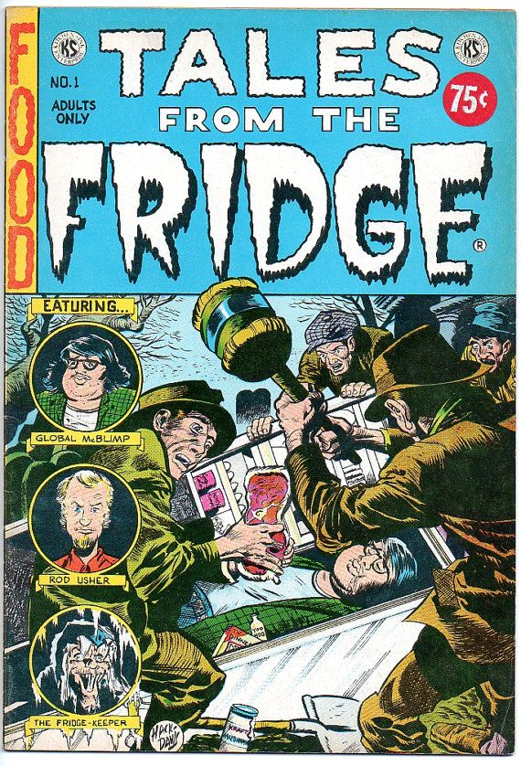 Tales from the Fridge 1973 underground comic