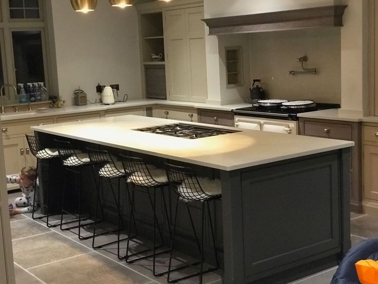 Kitchen of the week… Located in Hertford, Herts, showcasing the London Grey 30mm