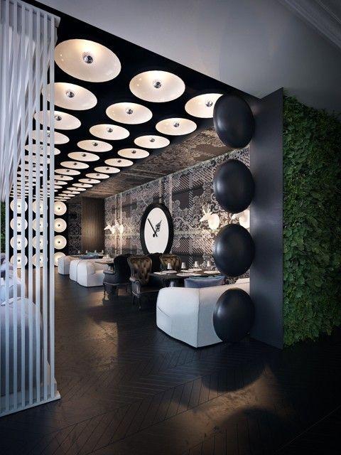 Ресторан Р - Interior design from the Sergey Makhno – mahno.com.ua
