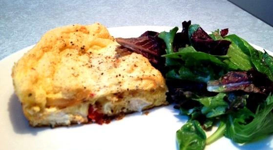 Yuuuummm Jeffrey! tomato and leek frittata souffle | Things to Cook ...
