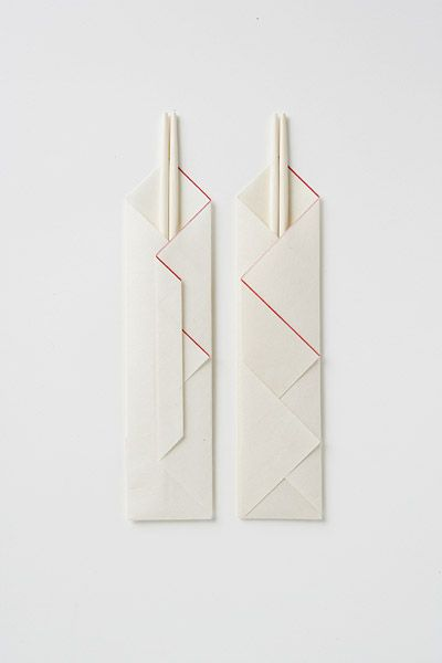 Japanese wrapping for chopsticks