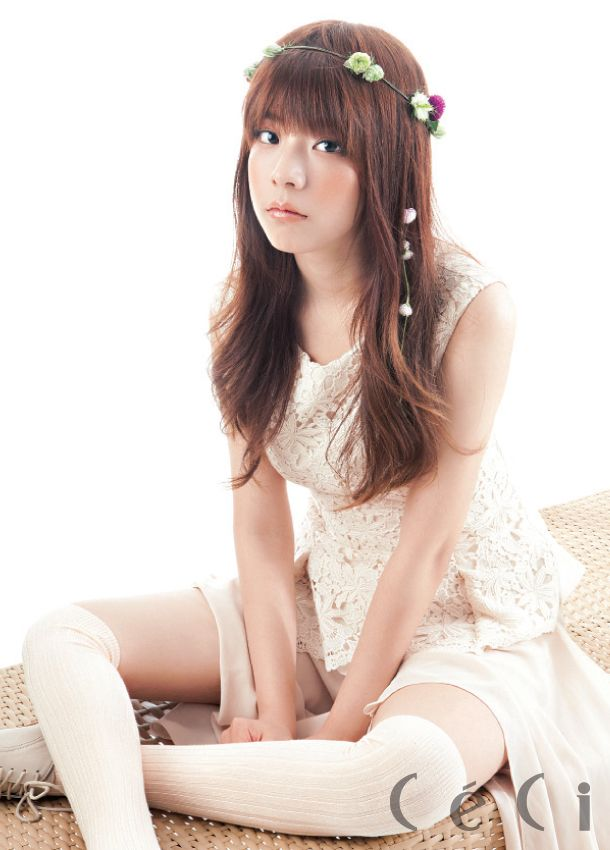 JUNIEL CéCi Korea Magazine August 2012
