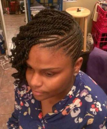 Admirable 1000 Images About Cornrows And Twists On Pinterest Hairstyle Inspiration Daily Dogsangcom