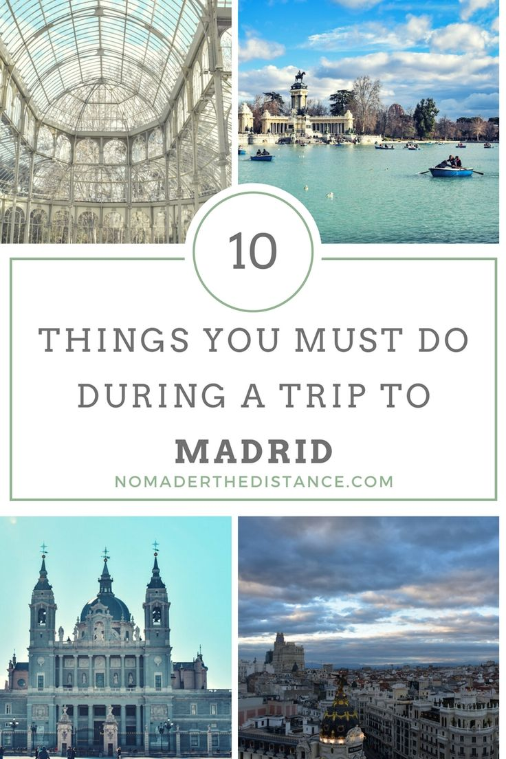Take a look at some of my favorite things to do in Madrid. Get lost at El Rastro flea market, watch the sun set at a rooftop bar, stroll around Buen Retiro Park, eat tapas at local markets, marvel at Madrid's beautiful churches, and more.