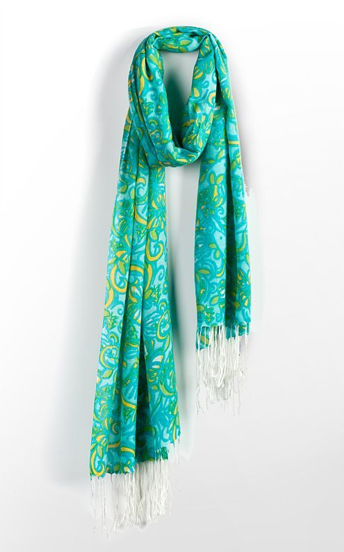 This scarf is called the DELTA DELTA DELTA.....