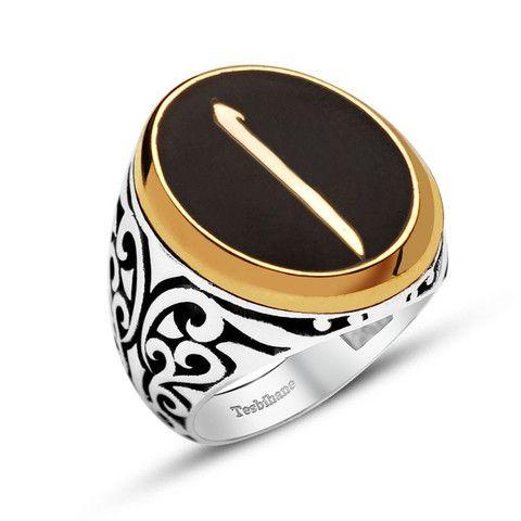 Men's Silver Islamic Ring Elif – Modefa USA
