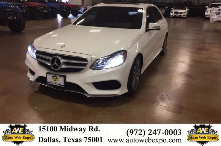 Gorgeous white 2014 Mercedes-Benz E350 with classic ebony interior. Equipped with heated seats, navigation, sunroof and much more. This beautiful aggressive front end and memorable sleek finish will certainly stand out from the rest. Contact Alicia Crosswhite at (214) 808.8901 to schedule your next visit to Auto Web Expo  https://deliverymaxx.com/DealerReviews.aspx?DealerCode=J789  #WhiteSedan #E-Class #FourDoor #Plano #AutoWebExpoInc