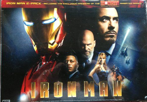 IRON MAN Movie & IRON MAN Animated Series DVD Set @ niftywarehouse.com #NiftyWarehouse #IronMan #Iron-man #Marvel #Avengers #TheAvengers #ComicBooks #Movies