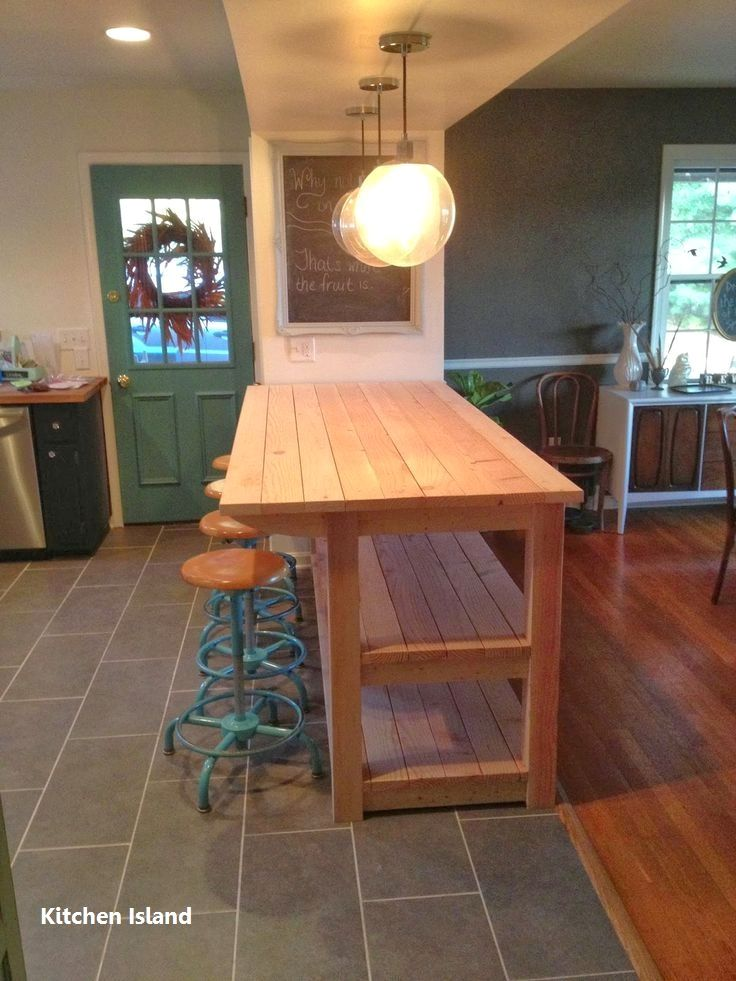 DIY Guide For Making A Kitchen Island 1 in 2018 bar stools
