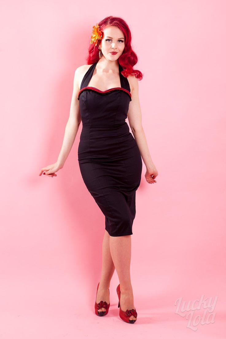 Collectif Sadie Viva Pencil Kleid kaufen - Lucky Lola