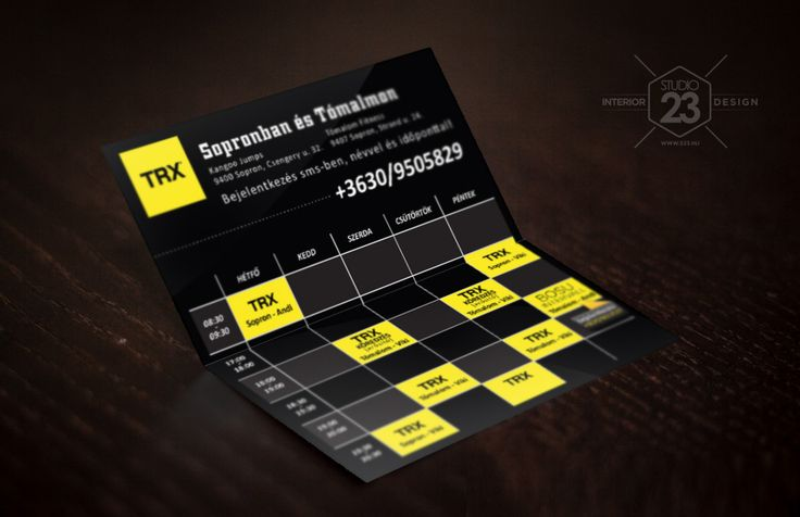 TRX timetable by s23.hu