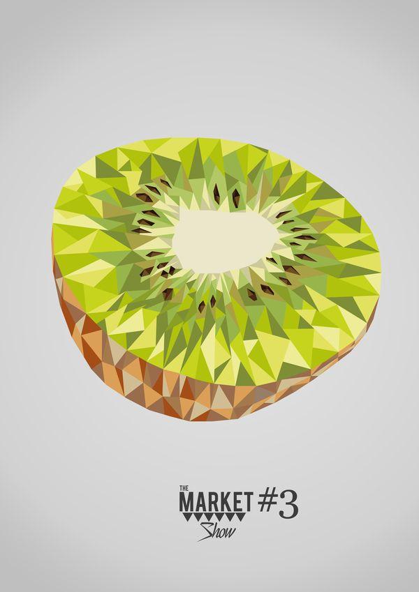 Desde que me apresentaram Charley Harper ando com esse interesse absurdo por ilustrações geométricas!