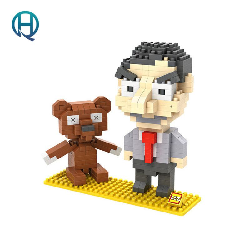 $4.06 (Buy here: https://alitems.com/g/1e8d114494ebda23ff8b16525dc3e8/?i=5&ulp=https%3A%2F%2Fwww.aliexpress.com%2Fitem%2FLOZ-Building-Blocks-Assembling-Toys-for-Children-Small-Mr-Bean-Building-Blocks-9507%2F32658544318.html ) Mini Nano Blocks LOZ Building Blocks Mr. Bean Action Figure Diamond Blocks Compatible Legoelieds 9507 for just $4.06