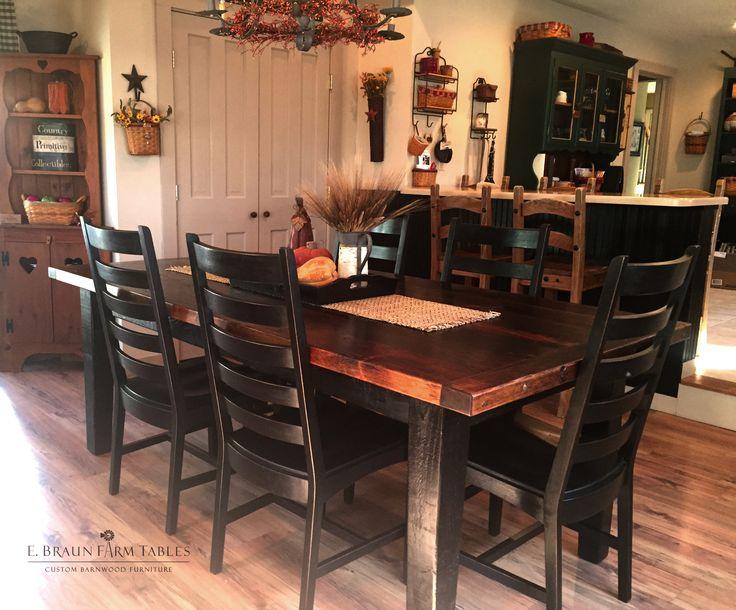 best Reclaimed Barn Wood Furniture by E. Braun Farm Tables
