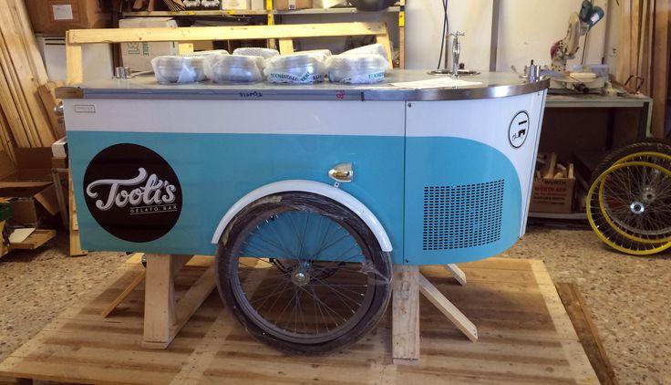 #icecreamcart #weddingcatering #tekneitalia #gelato #artisanalgelato #cart #foodtruck