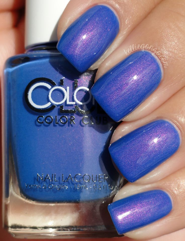 What a beautiful polish! Bell Bottom Babe by Color Club.