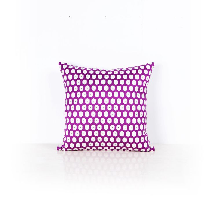 Optimiste Cushion Purple - 50cm x 50cm from Ambience Store