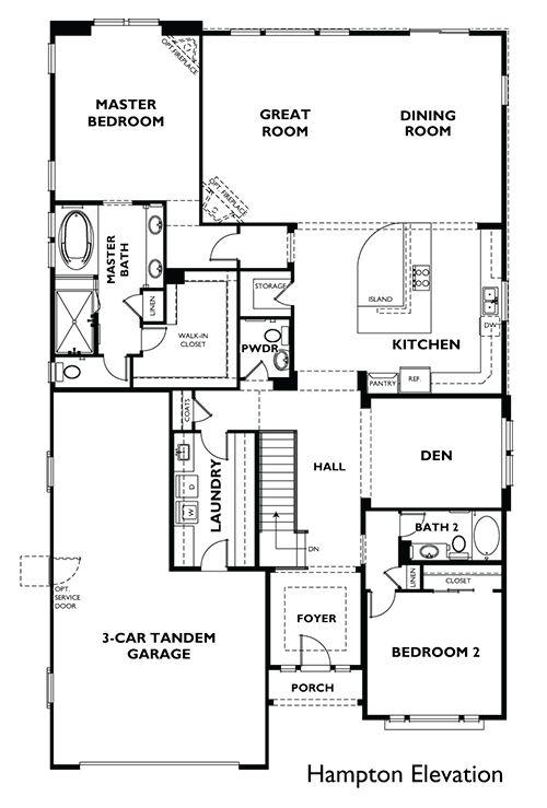 282 best Empty Nester House Plan Ideas images on Pinterest | House ...