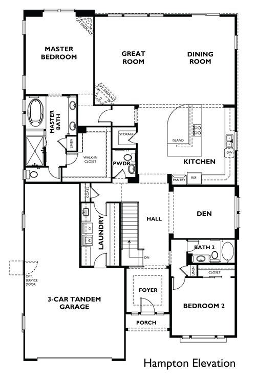 Empty nest house plans empty nester home plans Best empty nester house plans