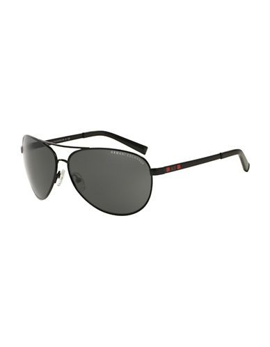 Armani Exchange 63MM Pilot Sunglasses Men's Grey