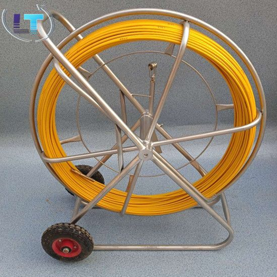 12mm*200m fiberglass duct rodders, FRP duct rod, Cable push