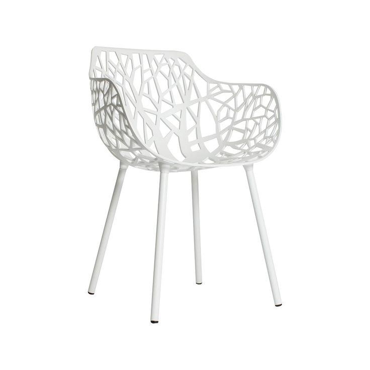 Forest Armchair, White - Fast Design - Fast Design - RoyalDesign.com #fastdesign #chair #furniture #royaldesign