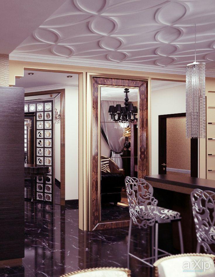 ар-деко от Vitta-group: интерьер, квартира, дом, гостиная, ар-деко, 20 - 30 м2 #interiordesign #apartment #house #livingroom #lounge #drawingroom #parlor #salon #keepingroom #sittingroom #receptionroom #parlour #artdeco #20_30m2 arXip.com