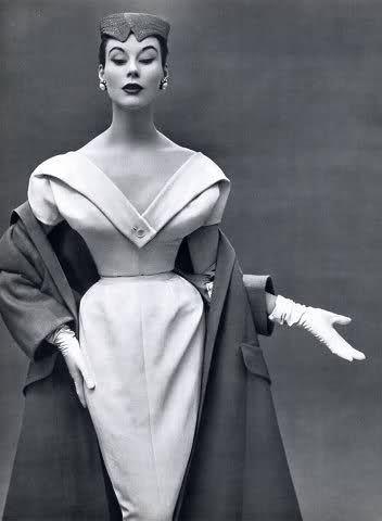 Dior 1953  - Photo by Philippe Pottier