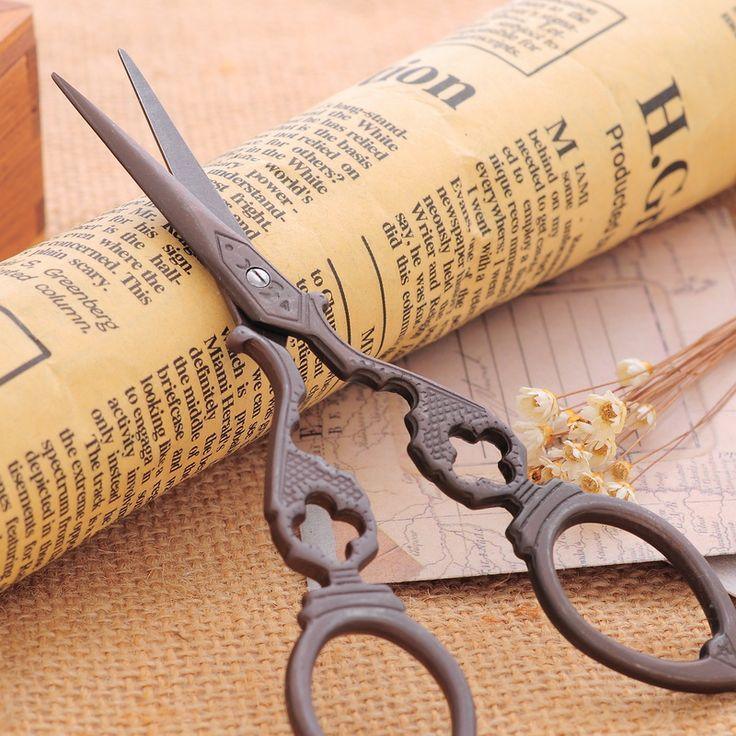 Купить Творческий старинные вышивки портного ножницы для ткани изысканный титана швейные принадлежности инструменты 1 шт.и другие товары категории Ножницы портногов магазине Cindy Jewelry Findings StoreнаAliExpress. вышивка татуировки и ножницы швейные