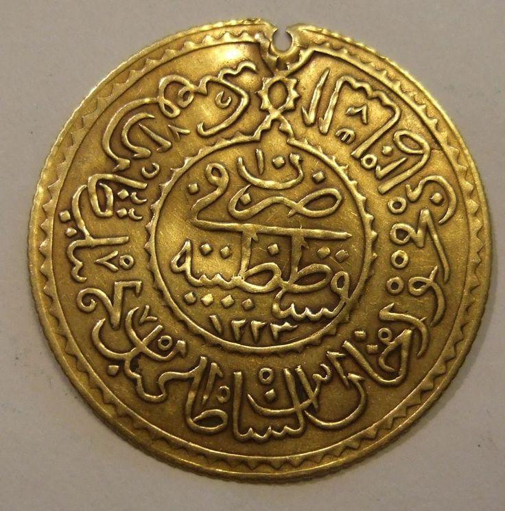 Ottoman Gold, Sultan Mahmud II , 1818, Osmanli Altini, Ottoman Empire...✧ : Photo