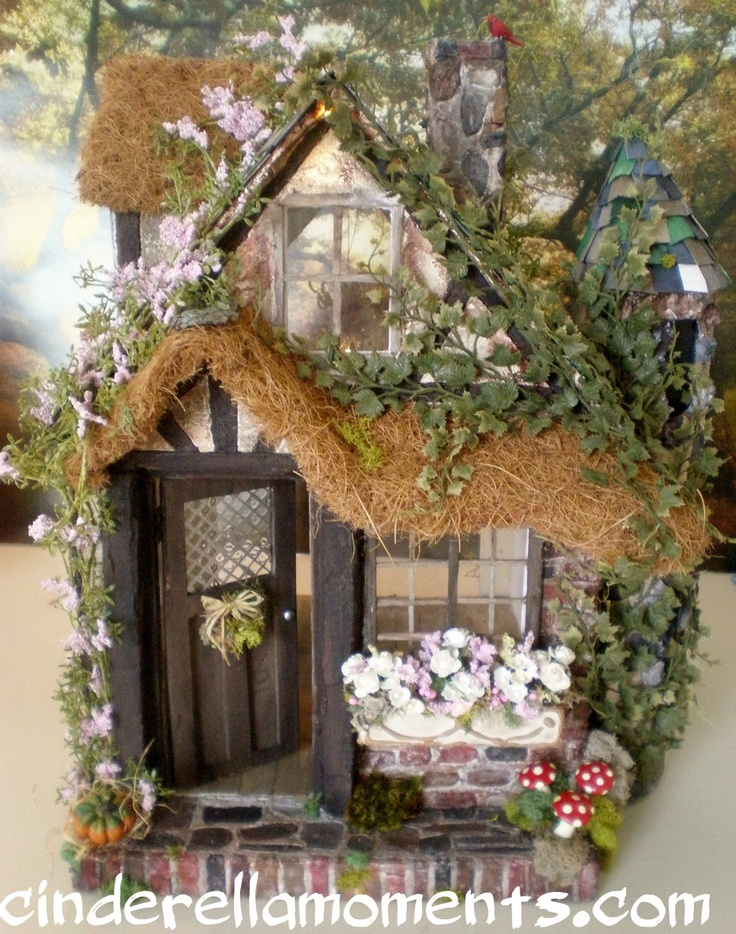 Cinderella moments charmed cottage finally done i love for Cottage anglais
