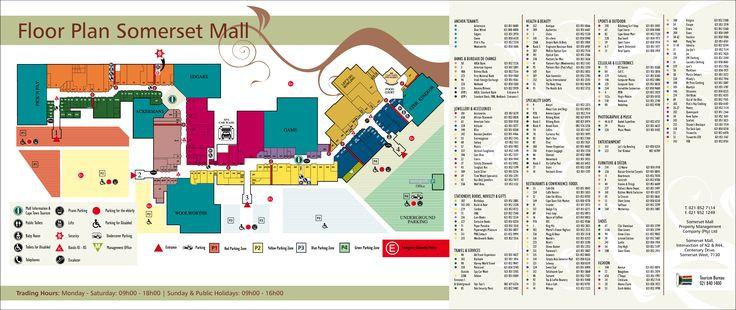 Floor Plan Somerset Mall | Somerset West