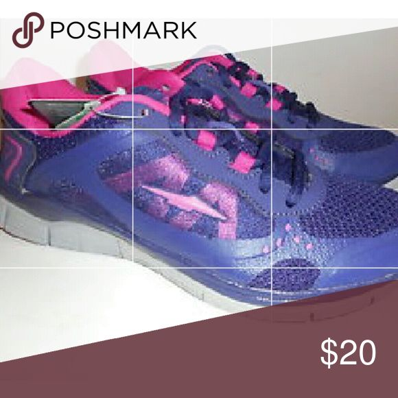 Avia Purple/Pink Shoes Avia Grape&berry womens tennis shoes. Size 10. Brand new, never worn! Avia Shoes Athletic Shoes