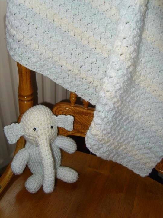 Knitting Pattern Baby Blanket Elephant : 17 Best images about Red Heart Crochet Patterns on ...